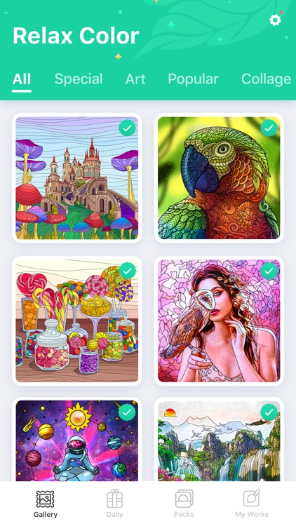 Color by Number - Relax Color screenshot-3