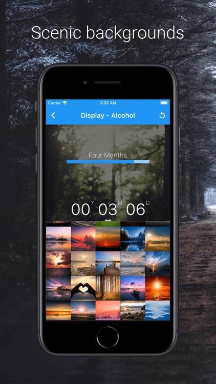 Sober Time - Sobriety Counter screenshot-4