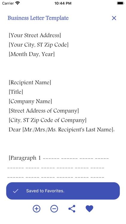 English Letter Writing Pro screenshot-7