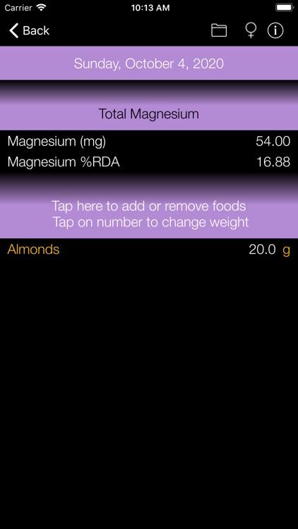 Magnesium Counter & Tracker screenshot-6