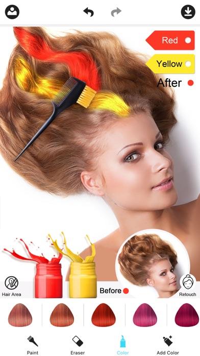 Hair Color Dye -Hairstyles Wig Screenshot