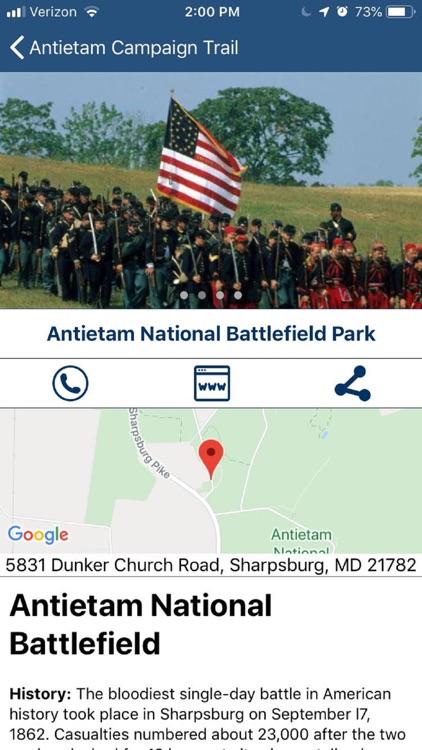 Maryland Civil War Trails screenshot-3