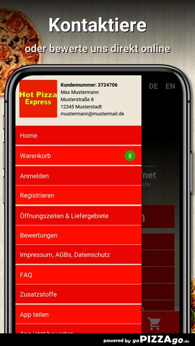 Hot Pizza Express Wannweil screenshot 3