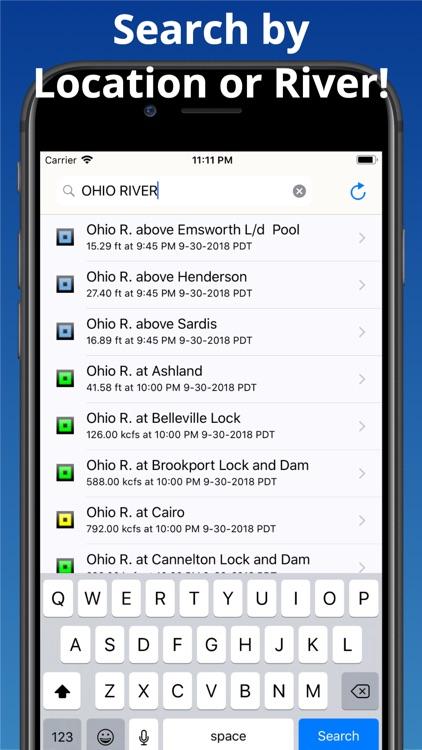 Rivercast - Levels & Forecasts screenshot-4