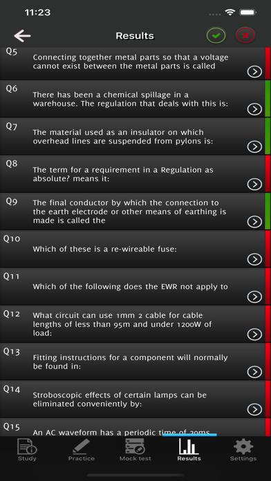 C&G 2357 Electrotechnology screenshot 5