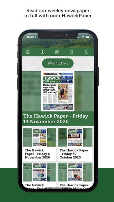 The Hawick PaperScreenshot of 5