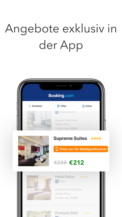 messages.download Booking.com: Hotel Angebote software