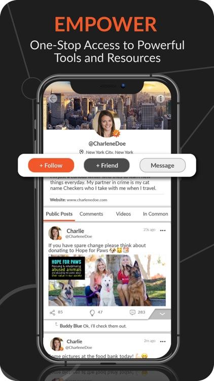 CloutHub: Social Networking screenshot-4