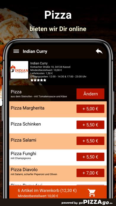 Indian Curry Kassel screenshot 5