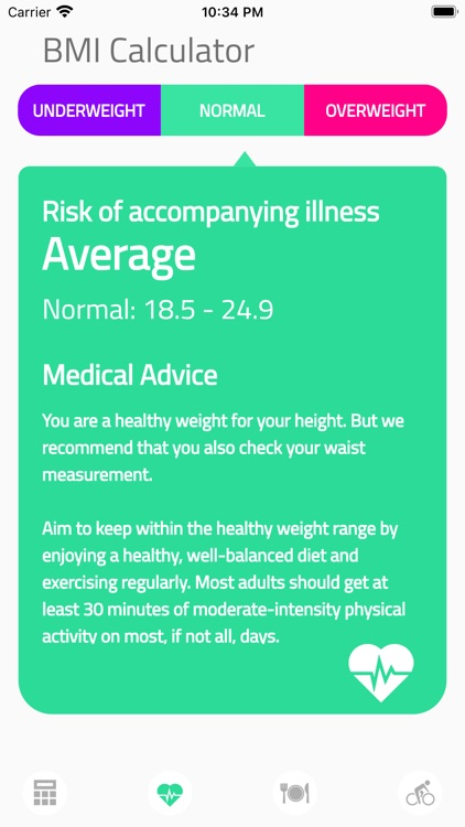 BMI Calculator Health screenshot-6