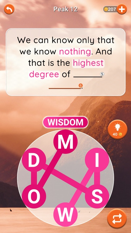 Quotescapes: Word Game screenshot-5