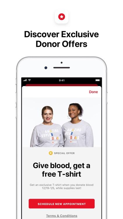 Blood Donor American Red Cross screenshot-4