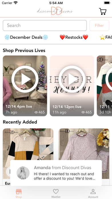 Discount Divas screenshot