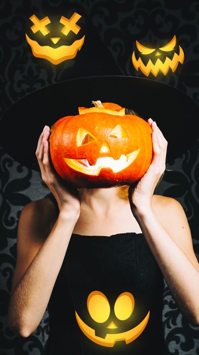Scary Pumpkin Emojis screenshot 5