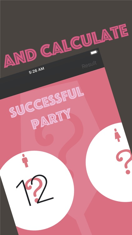 Party alcohol calculator
