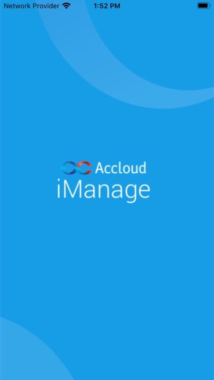 Accloud iManage