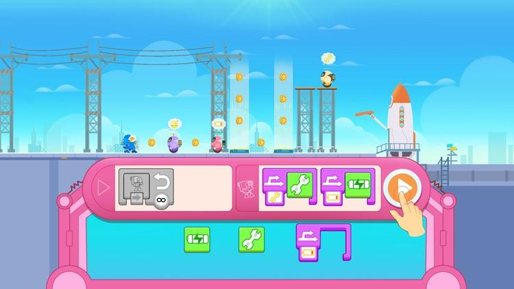 Dinosaur Coding games for kids screenshot-7