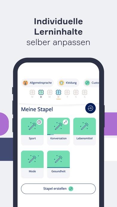 Sprachen lernen mit LingvistScreenshot von 4