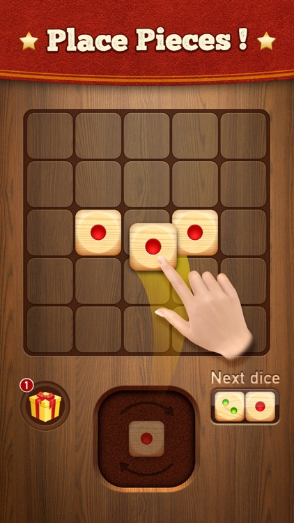 Woody Dice Merge Puzzle screenshot-0