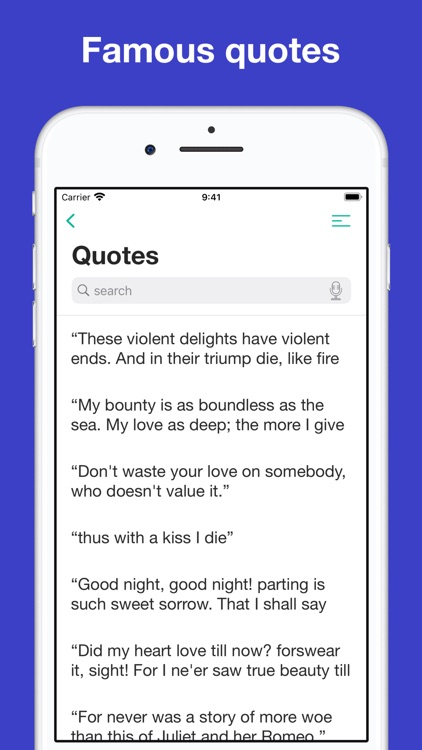 Romeo and Juliet: study notes screenshot-5