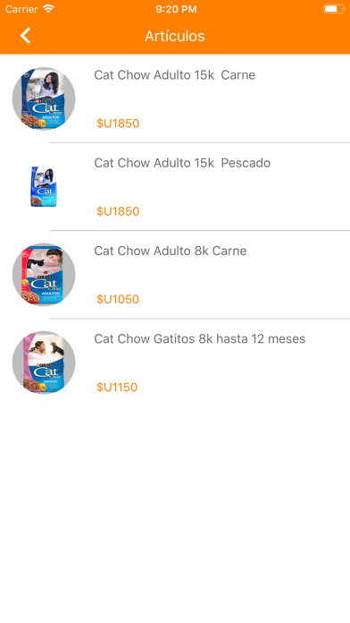 Alimentos de Mascotas UY screenshot 1