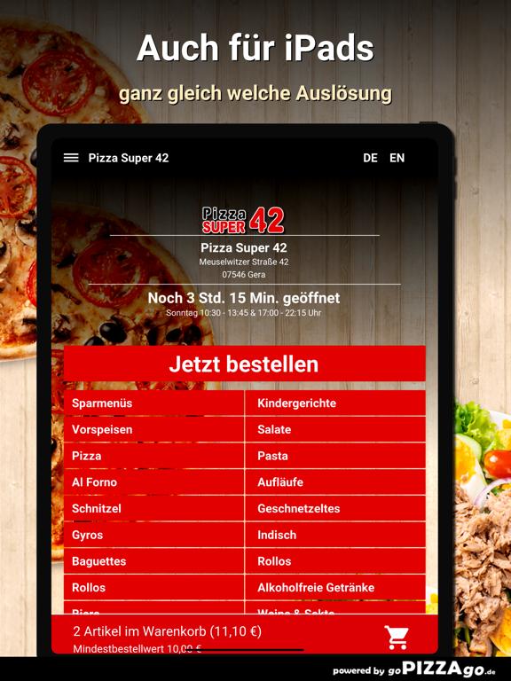 Pizza Super 42 Gera screenshot 7