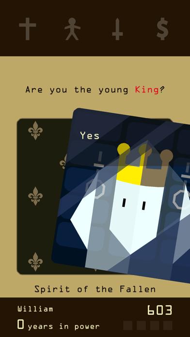 Reigns+ screenshot 1