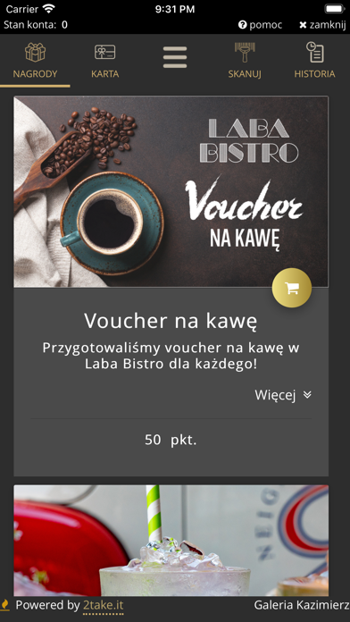 Galeria Kazimierz Screenshot