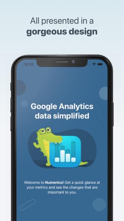 Numerico - Analytics widget screenshot-6