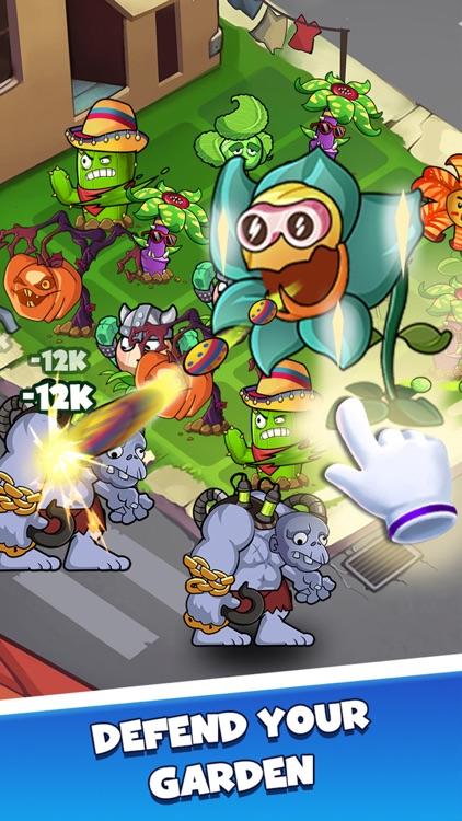 Merge Plants - Monster Defense screenshot-4