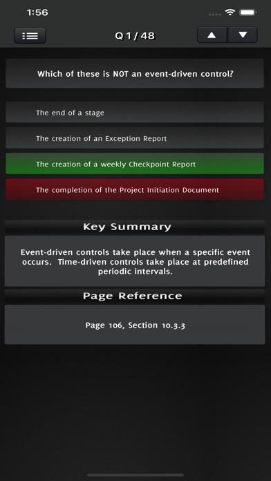 PRINCE2 Foundation Exam screenshot 5