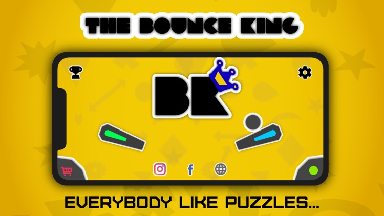 Bounce King : The Puzzle screenshot-0