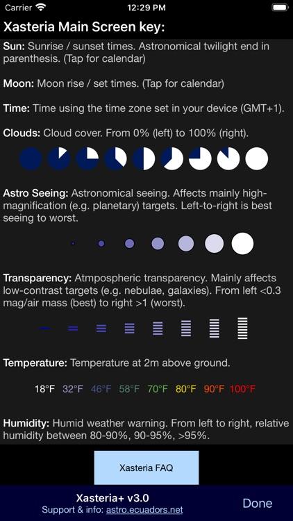 Xasteria Plus - Astro Weather screenshot-9