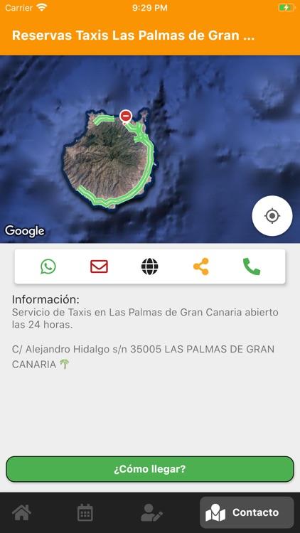 Reservas de Taxis Las Palmas screenshot-7