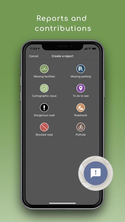 Geovelo : bike GPS screenshot-3