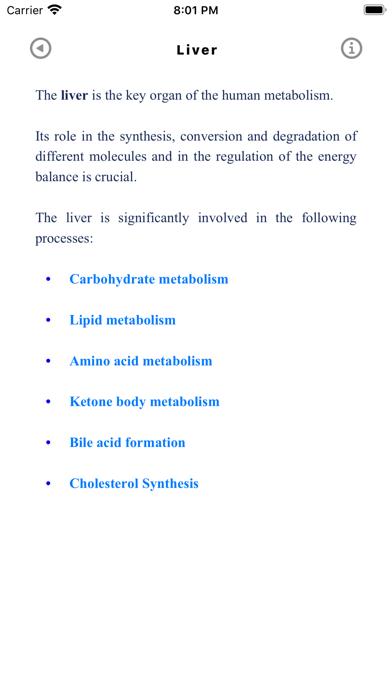 Скриншот №2 к Metabolic Organs