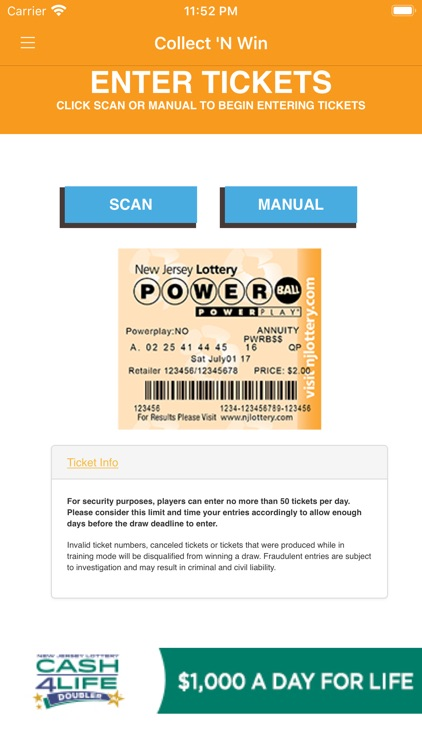 NJ Lottery CNW