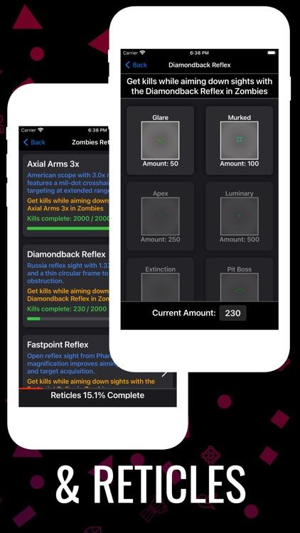 Cold War Camo Tracker screenshot-4