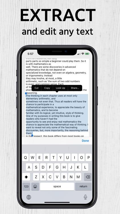 Scanner Me: Document Scan PDF screenshot-5