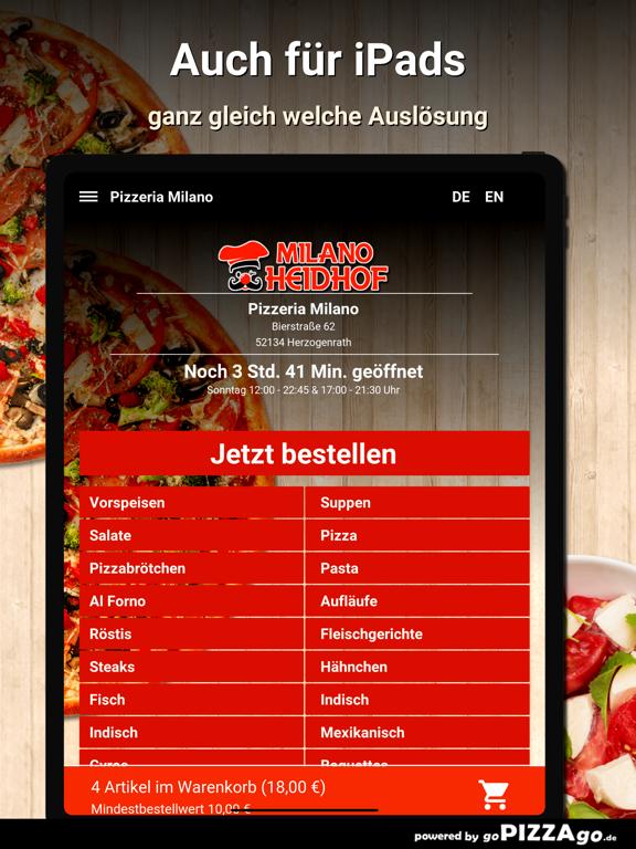 Pizzeria Milano Herzogenrath screenshot 7