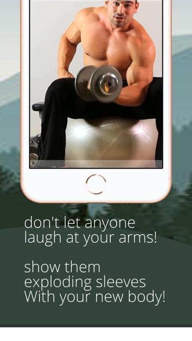 arm workout + chest push-ups screenshot 7