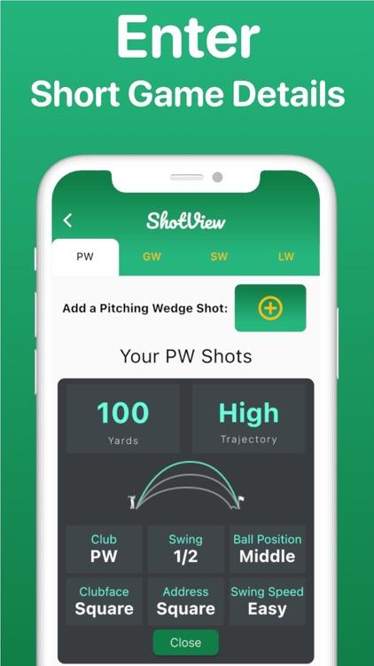 ShotView: Golf Club Distances screenshot-4