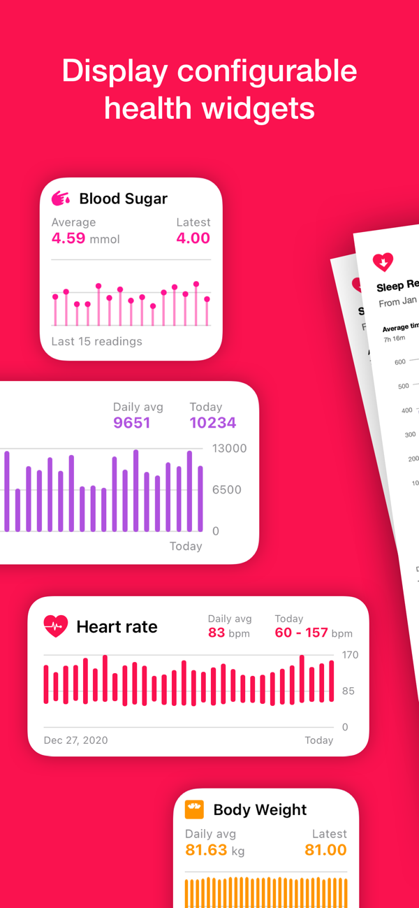 Heart Reports V2.0 for iPhone helps you generate detailed health reports Image
