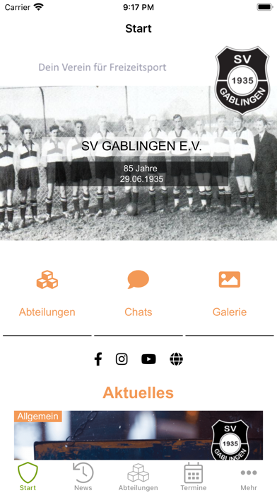 SV Gablingen e.V.Screenshot von 2
