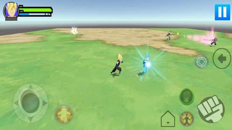 Stickman Warrior Z 3D screenshot-4