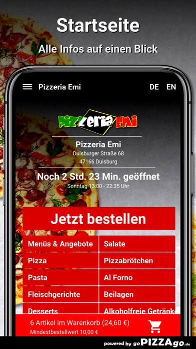 Pizzeria Emi Duisburg screenshot 2