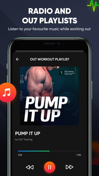 OU7: Gym & Home Workout screenshot-4