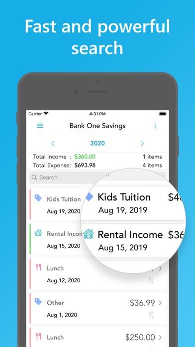 Скриншот №4 к Easy Spending Budget.