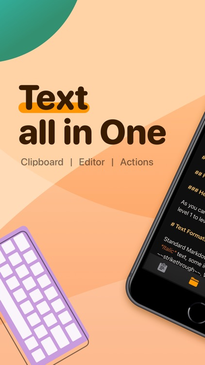 Taio - Markdown & Text Actions