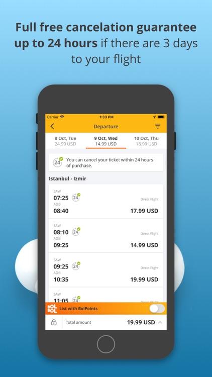 Book Flight Tickets by Pegasus screenshot-3